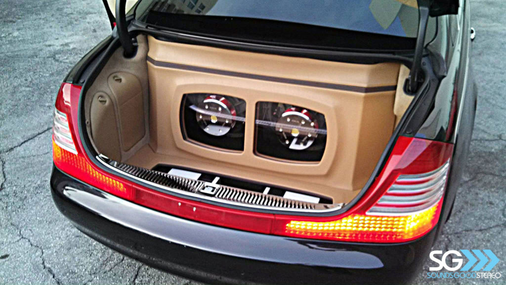 Custom Car Stereo Installation for Timbaland in his Maybach 62s